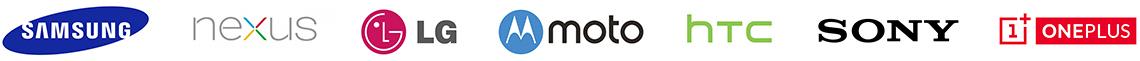 Samsung Nexus LG MOTO HTC SONY OnePlus