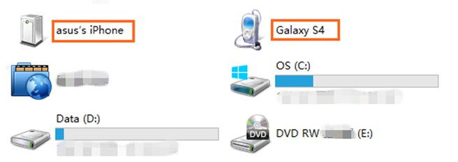 USB Transfer Photos