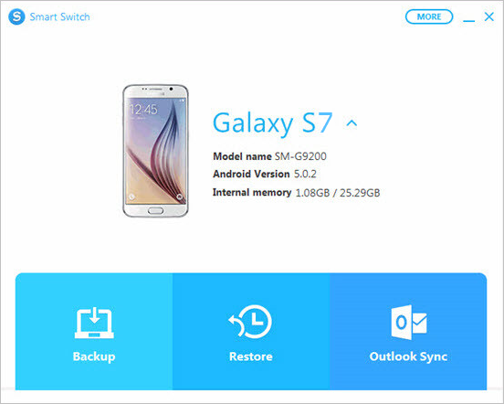 Samsung Smart Switch for PC