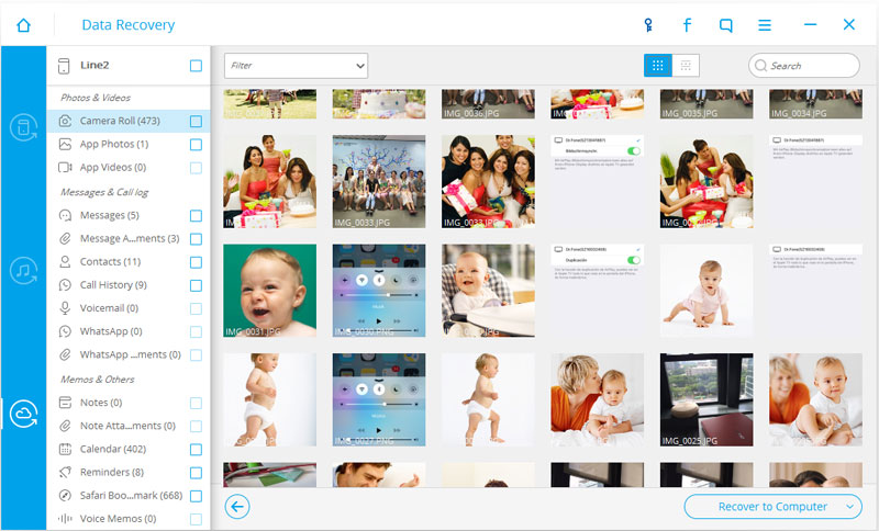 iOS iCloud Recover Photos