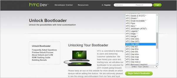 HTC Unlock Bootloader 2