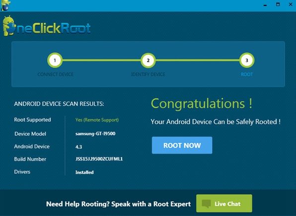 One Click Root 3