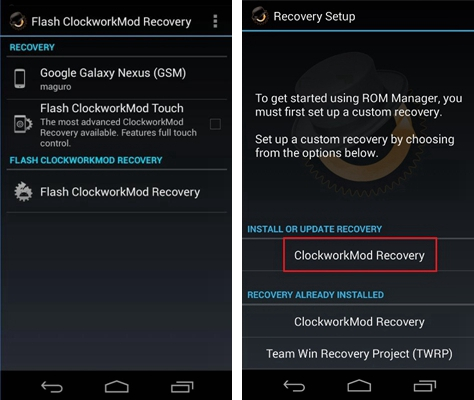 cwm recovery download for android