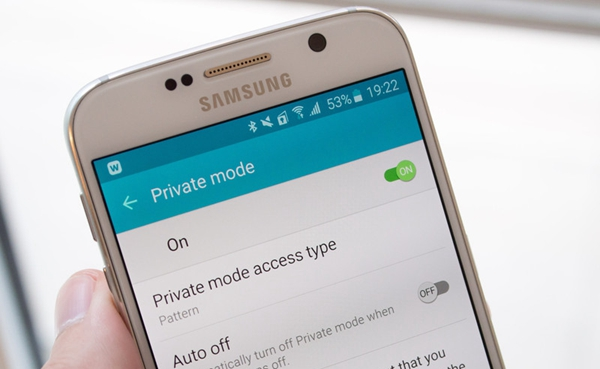 Samsung Private Mode Main