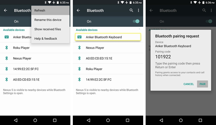 Android Bluetooth 2