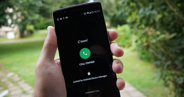 Lock Lost Android Phone