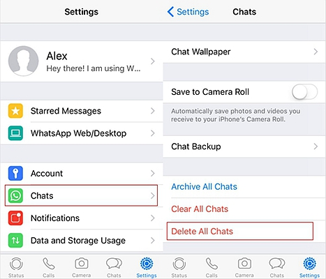 How To Clear Whatsapp Chat History On Iphone And Android