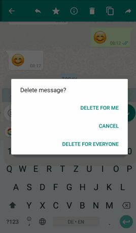 Clear All WhatsApp Chat 3