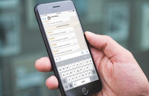 Delete Sent WhatsApp