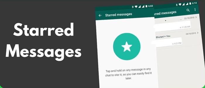 WhatsApp Star Message
