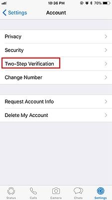 Two Step Verification WhatsApp 2