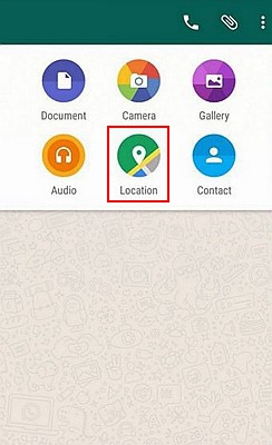 WhatsApp Share Location 1