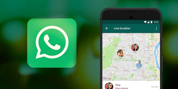 WhatsApp Share Location