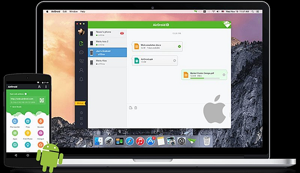 Android Tranfer to Mac 2