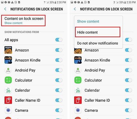 Lock Screen Notification 5