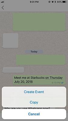 WhatsApp Creat Event 1