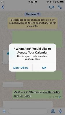 WhatsApp Creat Event 2