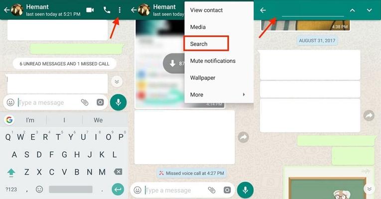 WhatsApp Search Chat 3