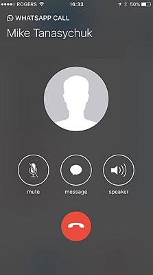 WhatsApp Voice Call 3