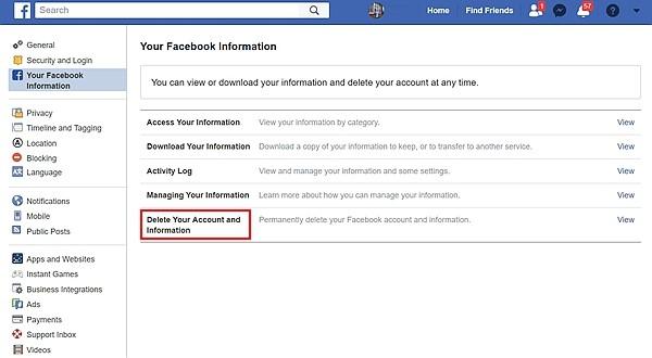 Dowload Facebook Data 4