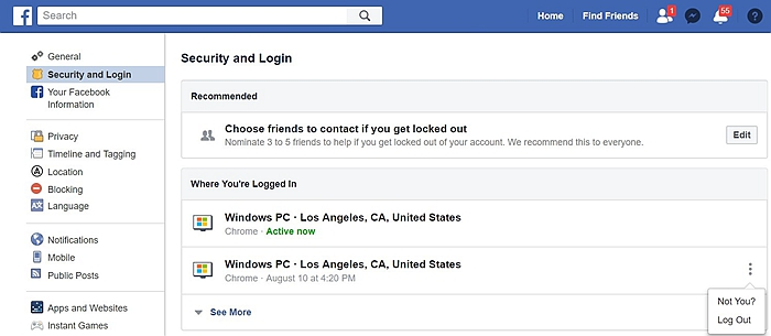 Facebook Security 7