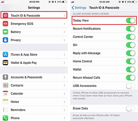 iPhone Lock Screen Security 1