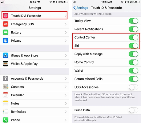 iPhone Lock Screen Security 3