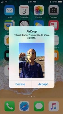 iPhone AirDrop 4