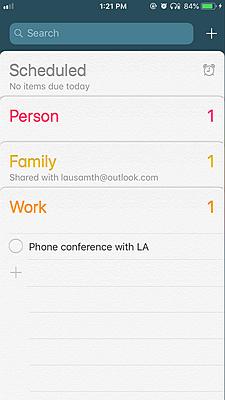 iPhone Calendar 4
