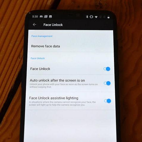 OnePlus Face Unlock 3