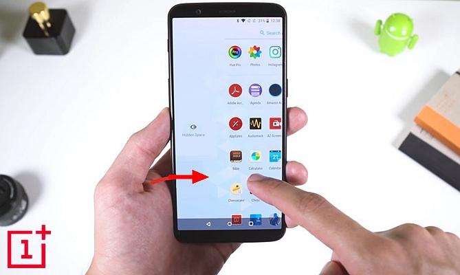 OnePlus Hidden Space 1
