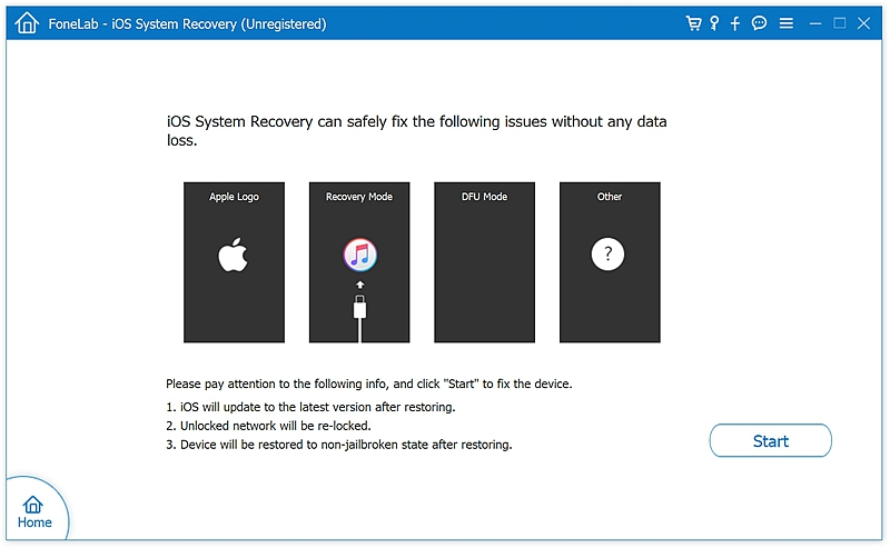 fl iOS System Recover 1