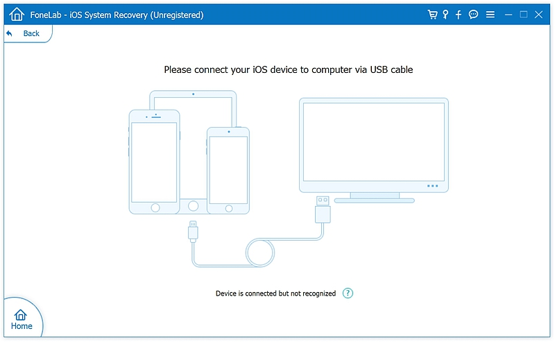 fl iOS System Recover 2