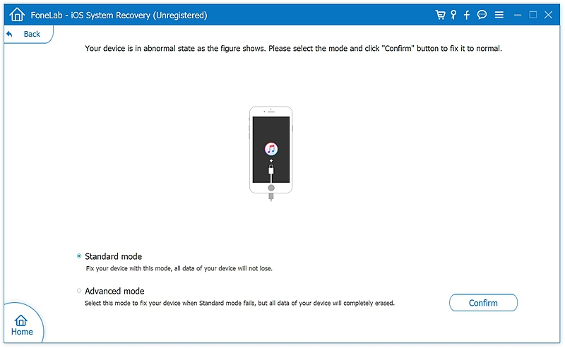 fl iOS System Recover 4