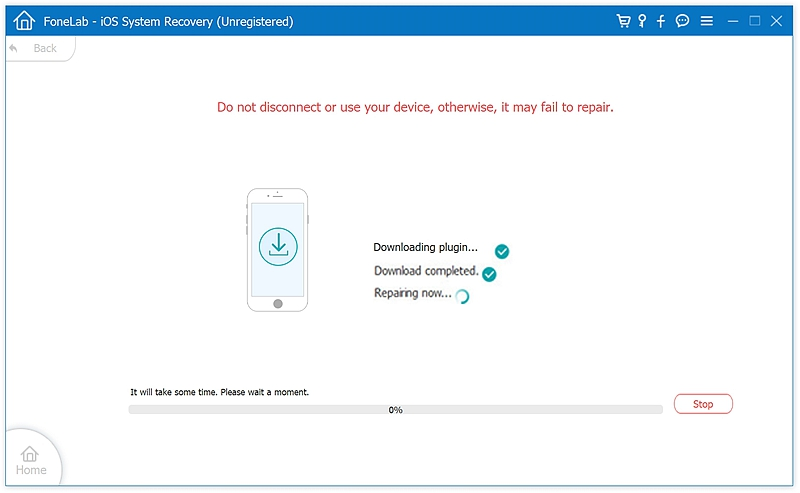 fl iOS System Recover 6