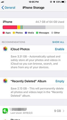 iPhone Offload App 2
