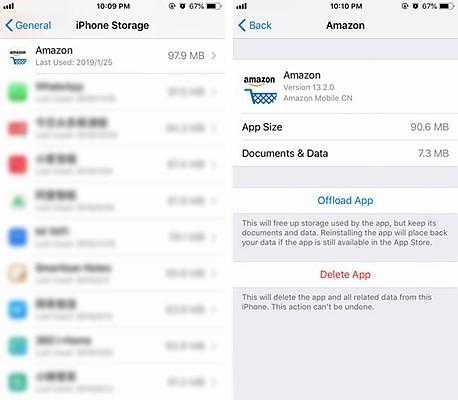 iPhone Offload App 3