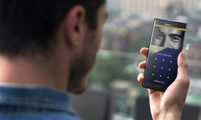 Samsung Iris Scan