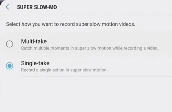 Samsung Slow Motio 4