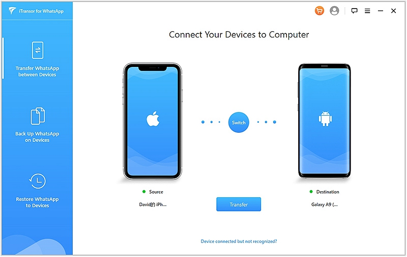 Whatsapp Transfer iPhone to Android 1